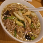 福龍菜館 - 五目タン麺(750円+税)2020年5月