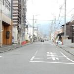 130879758 - この道がかまぼこ通り(旧東海道)です。