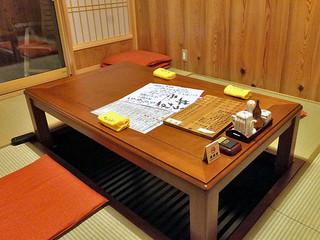 魚登久 - 別館「うなぎのねどこ」内の個室