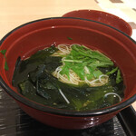 堂島とろ家 - セットのにゅう麵