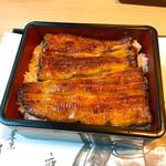 竹葉亭 - 鰻丼(楓)