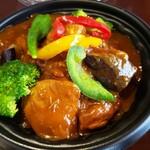 暖木 - 夏野菜のカレー丼