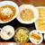 再来 - 料理写真:ラーメン・炒飯・焼き餃子 1050円