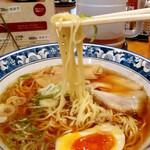 中華 はせ川 - 麺