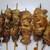 串居酒屋むら松 - 料理写真:左はもも、右はせせり。と思う。多分…。