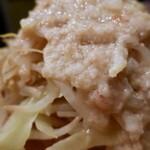 らーめん大 - 旨辛ニラ醤油ラーメン・2辛・ヤサイオオメニンニクヌキ(890円)