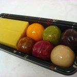 舟和 - 浅草「舟和」の芋ようかん&あんこ玉のセット 630円☆お安い♪