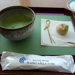 キーウエスト - ☆お抹茶セットもはずせませんよね☆