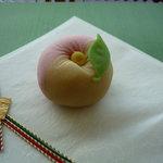 キーウエスト - ☆お抹茶セットの和菓子ですぅー(^o^)丿☆