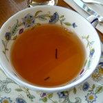 キーウエスト - ☆紅茶は茶葉がちょっぴり茶柱状態で嬉しくなりましたぁ☆