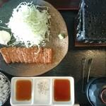 新潟牛華堂 - 料理写真:牛カツ130g