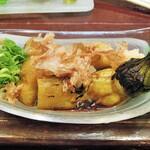 酒肴商店 アジト - 焼きナス