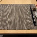 Chuugokusaishinka - テーブル席へ