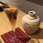 Chuugokusaishinka - 珍蔵壺入り10年紹興酒 250ml 1300円