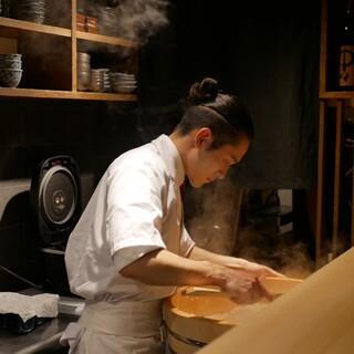 ミシュラン掲載店の割烹・鮨で培った経験