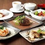 鉄板Diner JAKEN - ランチハンバーグコース