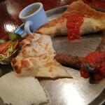 Bisutorohitsujiya - チュニジアの餃子とシシカバブのセット