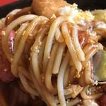 スパゲッ亭チャオ - 麺