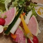 130912754 - 美味しい野菜を少しづつ バーニャフレイダ