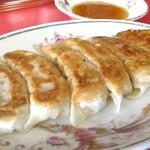 中華料理 紅蘭 - 焼ぎょうざ