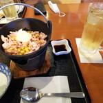 満天茶屋 - 料理写真:コーンバター+ハイボール
