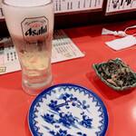 純ちゃん - 生ビール お通し