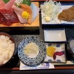たいら食堂 - 料理写真:お刺身5点盛セット