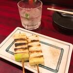 加賀屋 - ネギ焼きと芋ロック