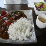 13094097 - 国産牛肉と野菜のカレーランチ 900円