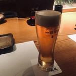 蔵鵡 - キリン一番搾り(580円)