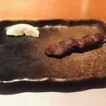 蔵鵡 - 砂肝(180円)