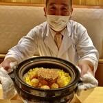 Shinohara - 毛蟹ととうもろこしの土鍋ご飯