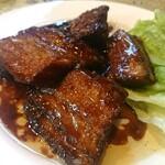 志峰飯店 - 「豚の角煮(5切れ)」
