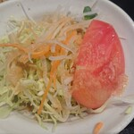 刺身屋新太郎 - 野菜サラダ
