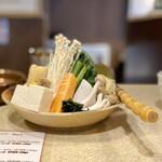 しゃぶ亭 - 野菜たっぷり