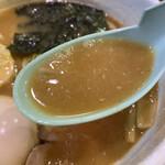 どろそば屋 ひろし - スープ