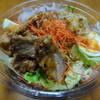 成城石井 - 料理写真:2012年5月再訪 油淋鶏と10種野菜サラダ