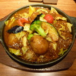 カリーレストランヨシミ - 北海道の野菜がたっぷり焼きカリー