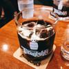 てらにし珈琲本店 - ドリンク写真:アイスコーヒー、ミルクもあう