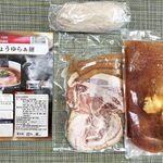 らぁ麺 飯田商店 - 「友情しょうゆらぁ麺」の内訳