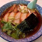 味の大西 - チャーシュー麺(上から)(2020.5)