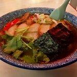 味の大西 - チャーシュー麺(2020.5)