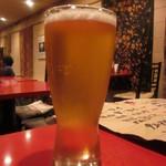 担々麺専科 Tongking - エビス生ビール