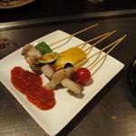 13097372 - イベリコ豚と彩り野菜