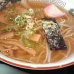 Aioimochihonten - 中華そばと焼き飯(小)のセットの中華そば