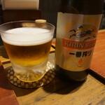 一富士 - 瓶ビール♪
