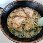 あじ平 - 料理写真:『味噌チャーシュー サービスライス』