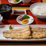 川蝉 - 2020.6 白焼御飯(4,180円)