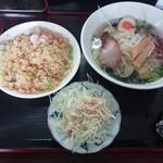 台湾料理 金泉 - ラーメンセット(770円)