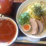 赤兎 - にんにく辛醤油つけ麺